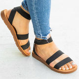 Charmystery Women Casual Slip On Flats Sandals