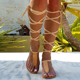 Charmystery T-strap Ancient Greek Sandals