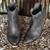 Charmystery Vintage Casual Winter Boots