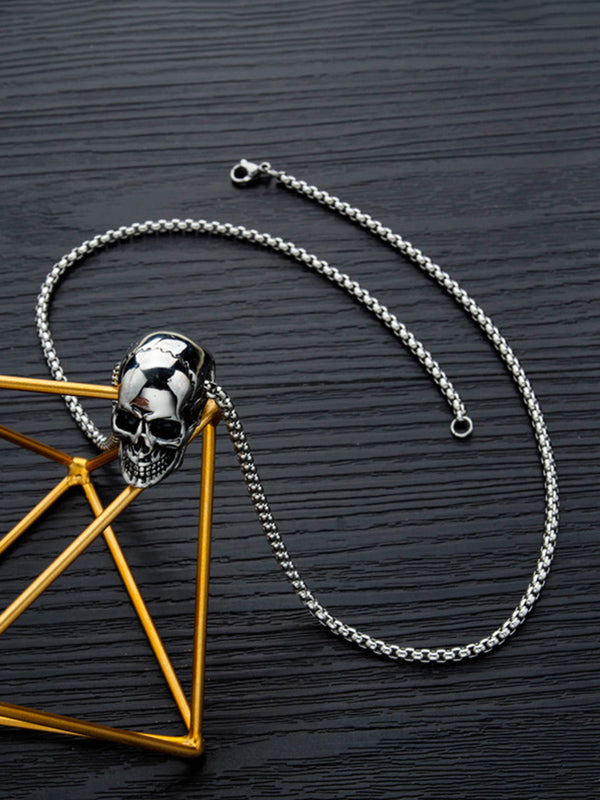 Charmystery Skeleton Domineering Necklace