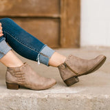 Charmystery Women Western Style  Boots