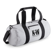 Load image into Gallery viewer, KW Logo Duffle Bag - Silver