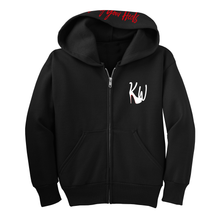 Load image into Gallery viewer, Youth KW Logo Hoodie - Black