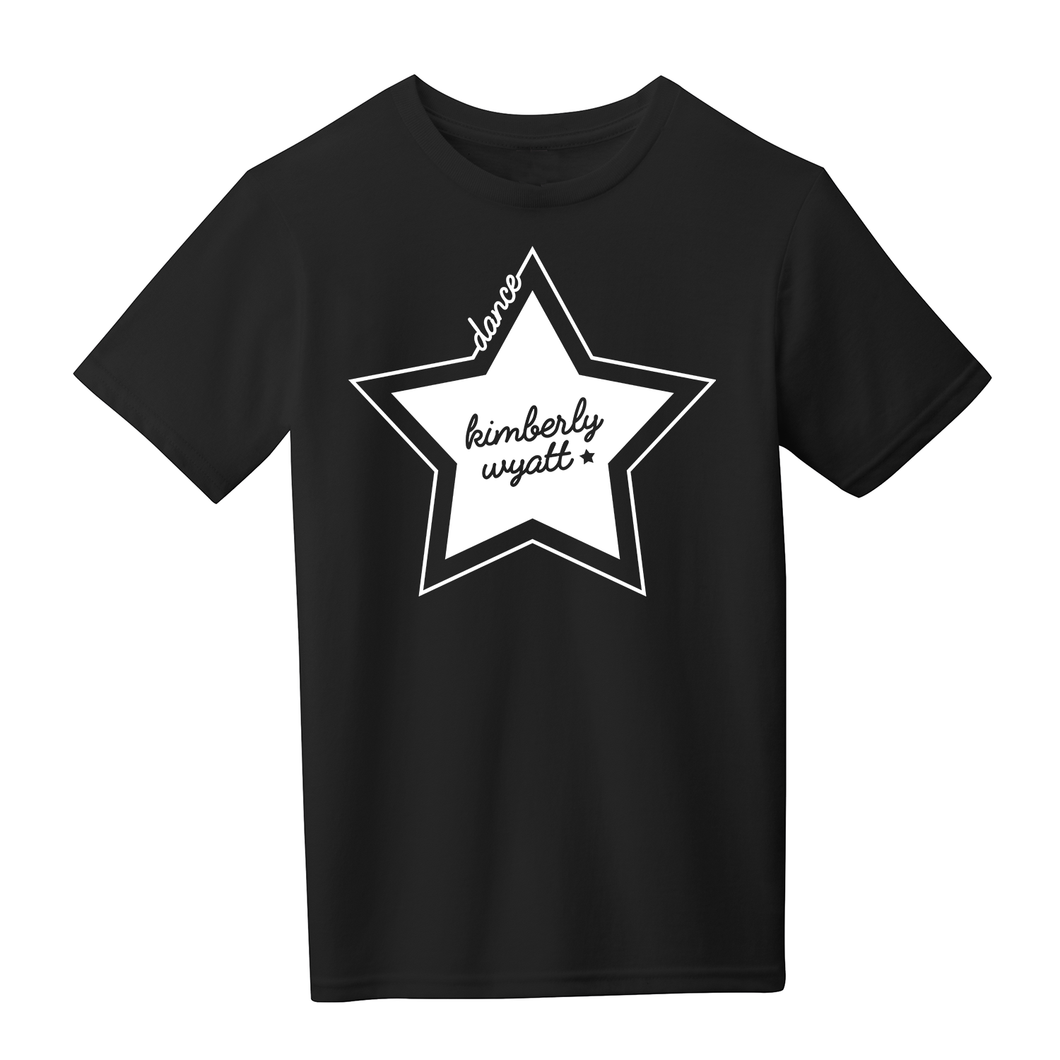 Youth Star Tee - Black