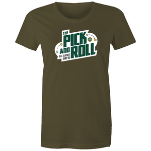 The Pick and Roll Modern Women's Tee