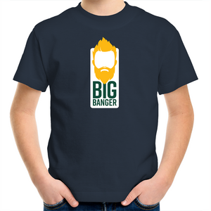 Big Banger Suns Kids Tee (Green and Gold)