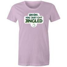 Load image into Gallery viewer, You Just Got Jingled Women's Tee
