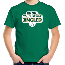 Load image into Gallery viewer, You Just Got Jingled Kids Tee