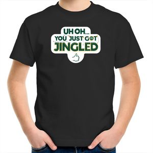 You Just Got Jingled Kids Tee
