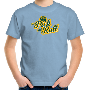 The Pick and Roll Classic Script Kids Tee