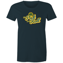 Load image into Gallery viewer, The Pick and Roll Classic Script Women's Tee
