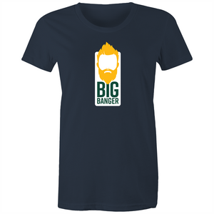 Big Banger Suns Women's Tee (Green and Gold)