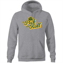Load image into Gallery viewer, The Pick and Roll Classic Script Pocket Hoodie