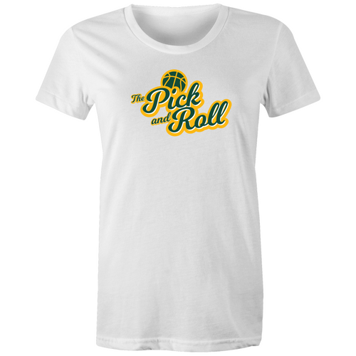 The Pick and Roll Classic Script Women's Tee