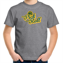 Load image into Gallery viewer, The Pick and Roll Classic Script Kids Tee