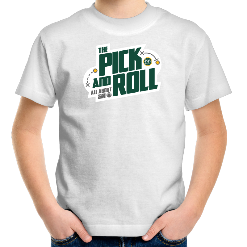 The Pick and Roll Modern Kids Tee