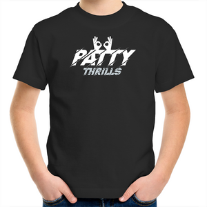 Patty Thrills Spurs Goggles Kids Tee