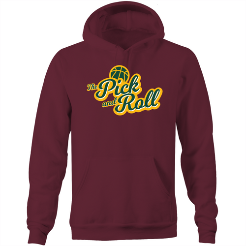 The Pick and Roll Classic Script Pocket Hoodie