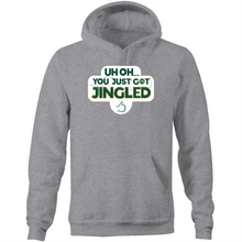Load image into Gallery viewer, You Just Got Jingled Pocket Hoodie