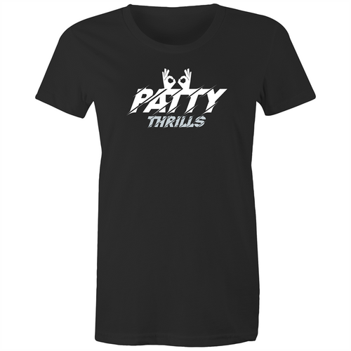 Patty Thrills Spurs Goggles Women's Tee
