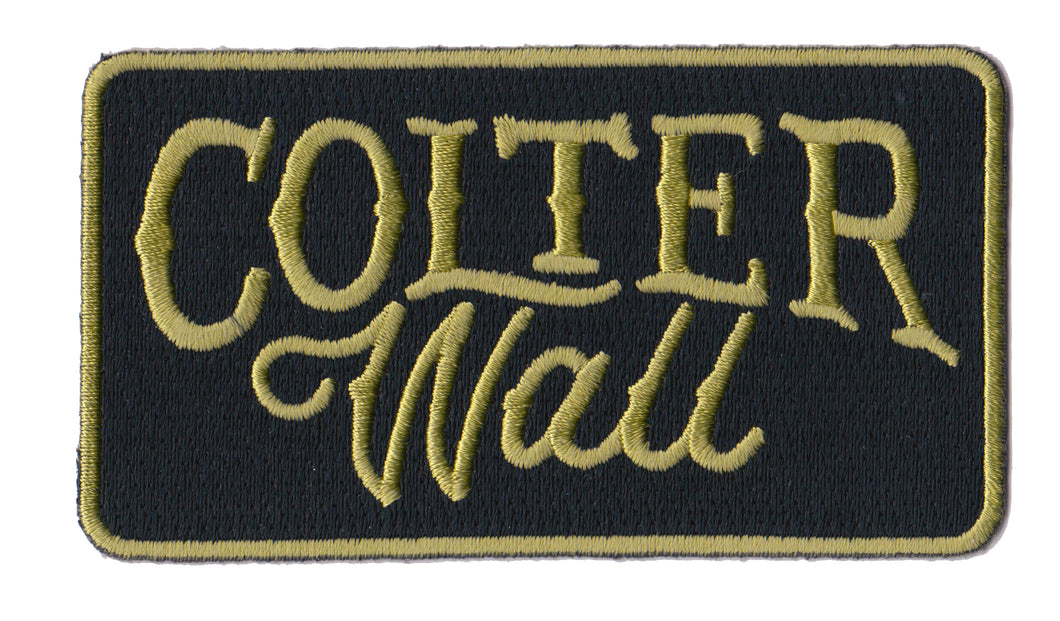 Colter Wall Logo Patch