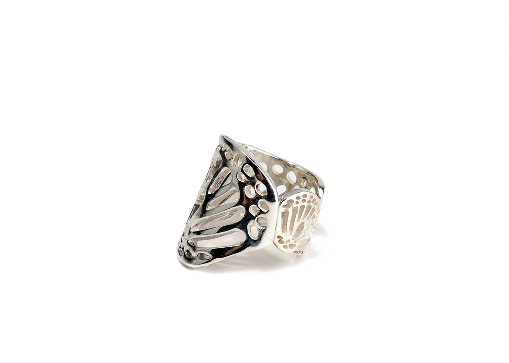 butterfly wing ring