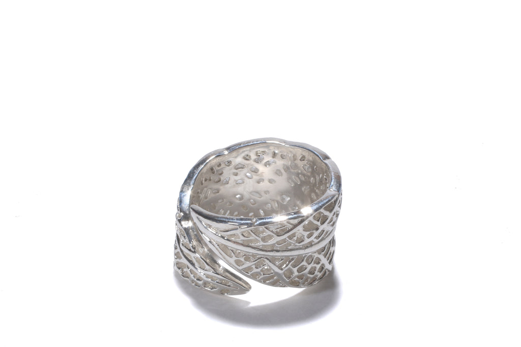 lace leaf ring