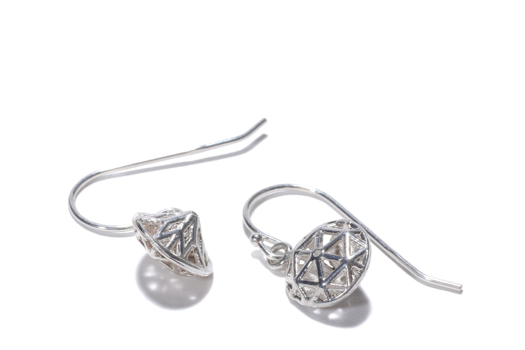 bloodless diamond earrings