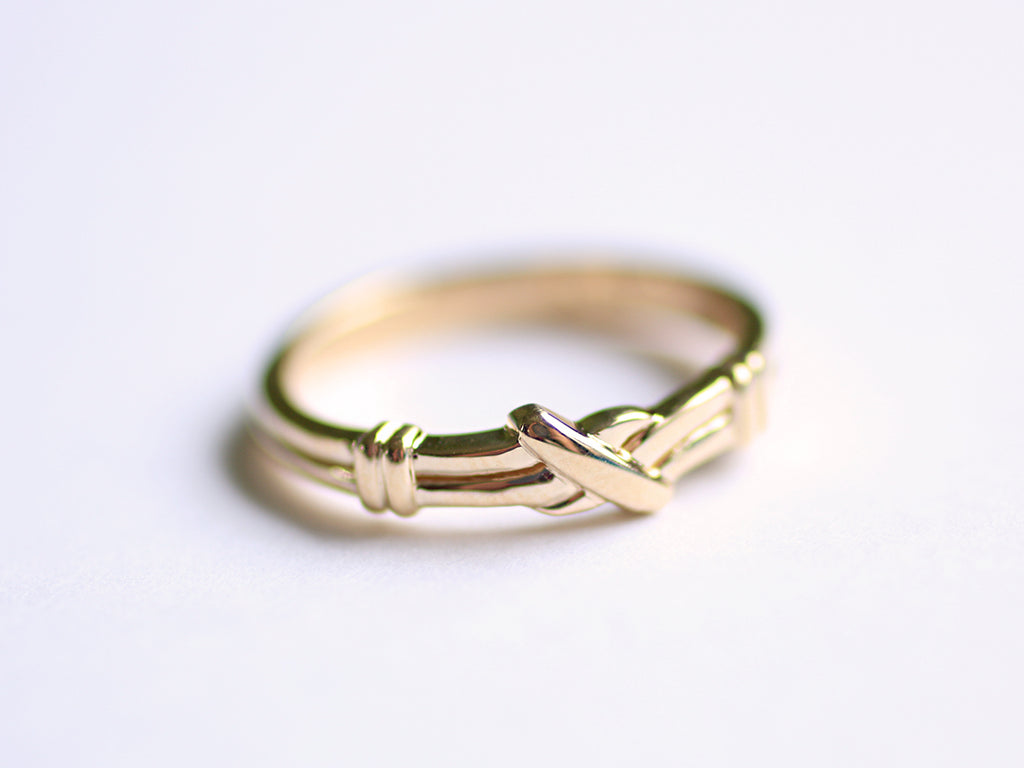 Flemish Knot Ring For Kerry Original And Custom Jewellery By Even Design Vancouver Bc