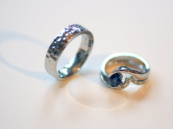 Kelcie and Ross Rings