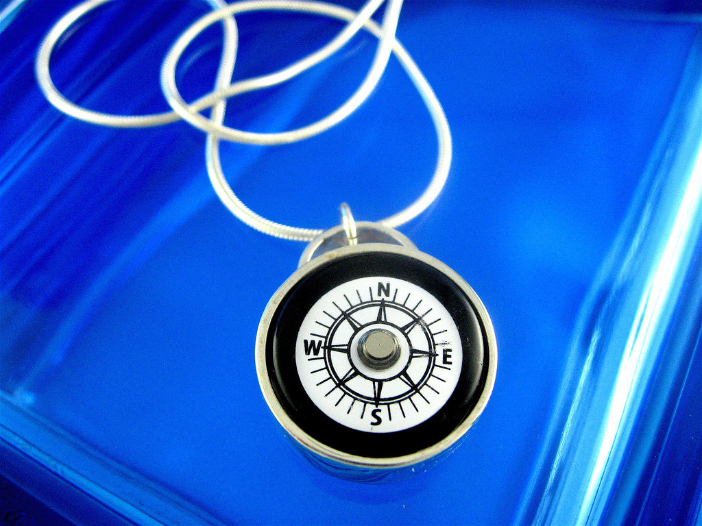lg compass necklace