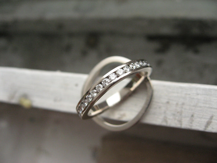 soft eternity bands