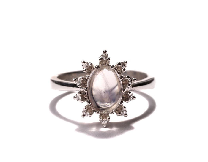 Sara Moonstone ring