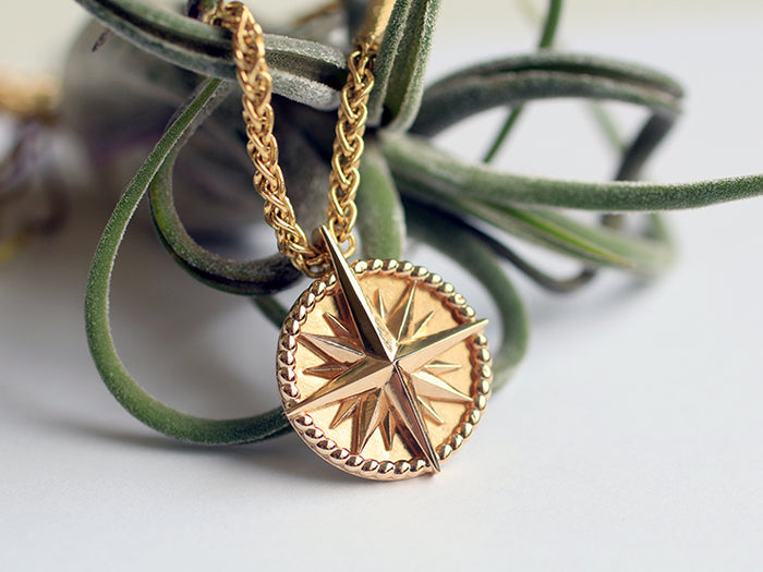 Ian Compass Necklace