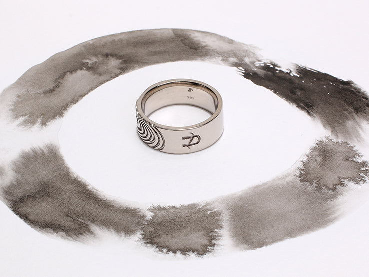 Paul Fingerprint Ring