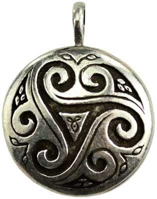 Triskele Shield Amulet*