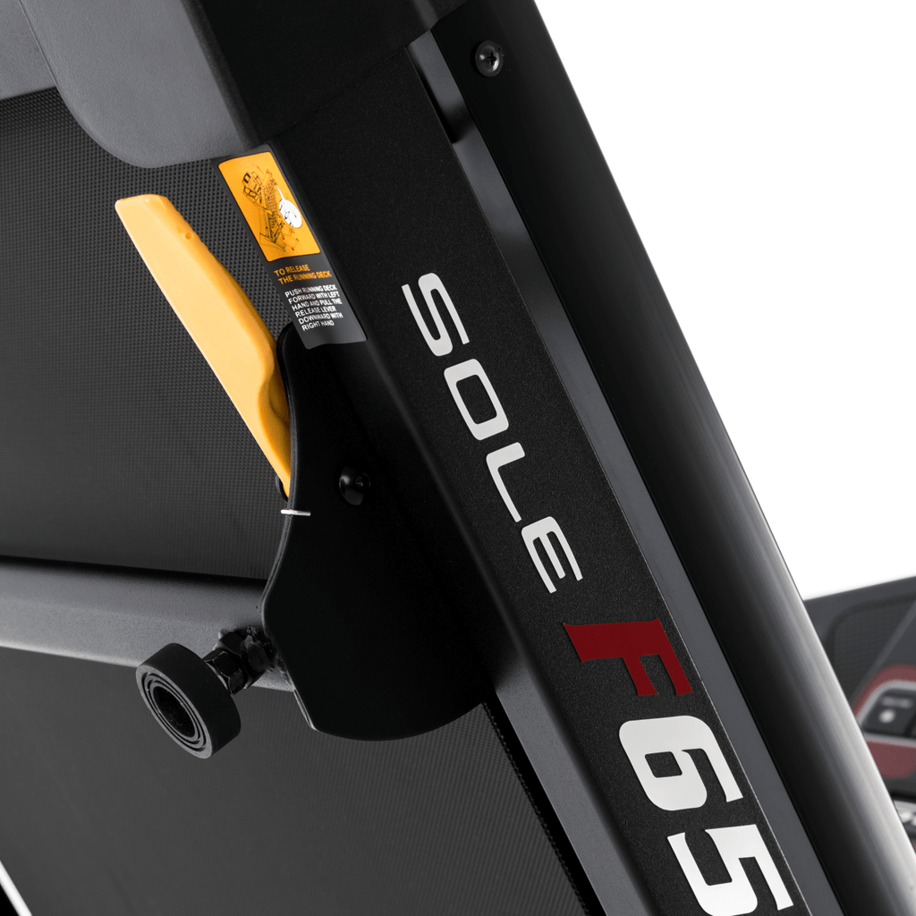 Sole Treadmill Easy Folding Mechanism