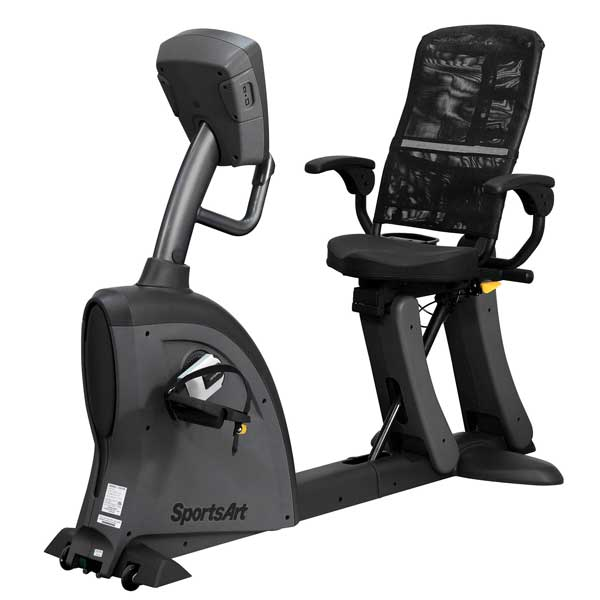 SportsArt C521M Medical Rehab Recumbent Exercise Bike