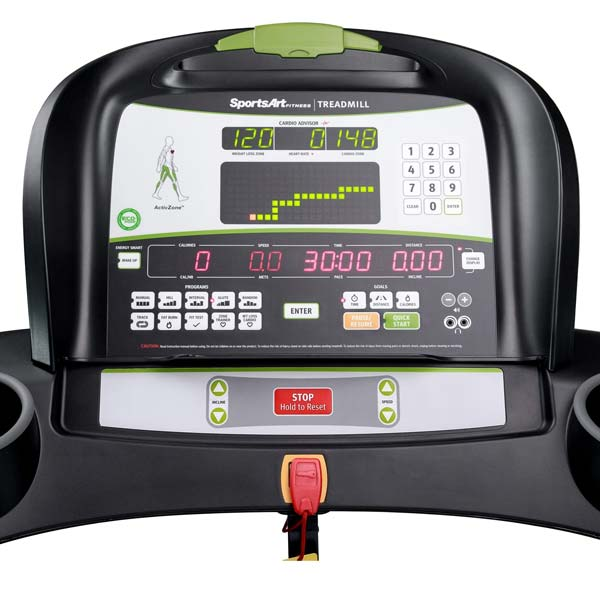 SportsArt Foundation Series T635A Treadmill Console