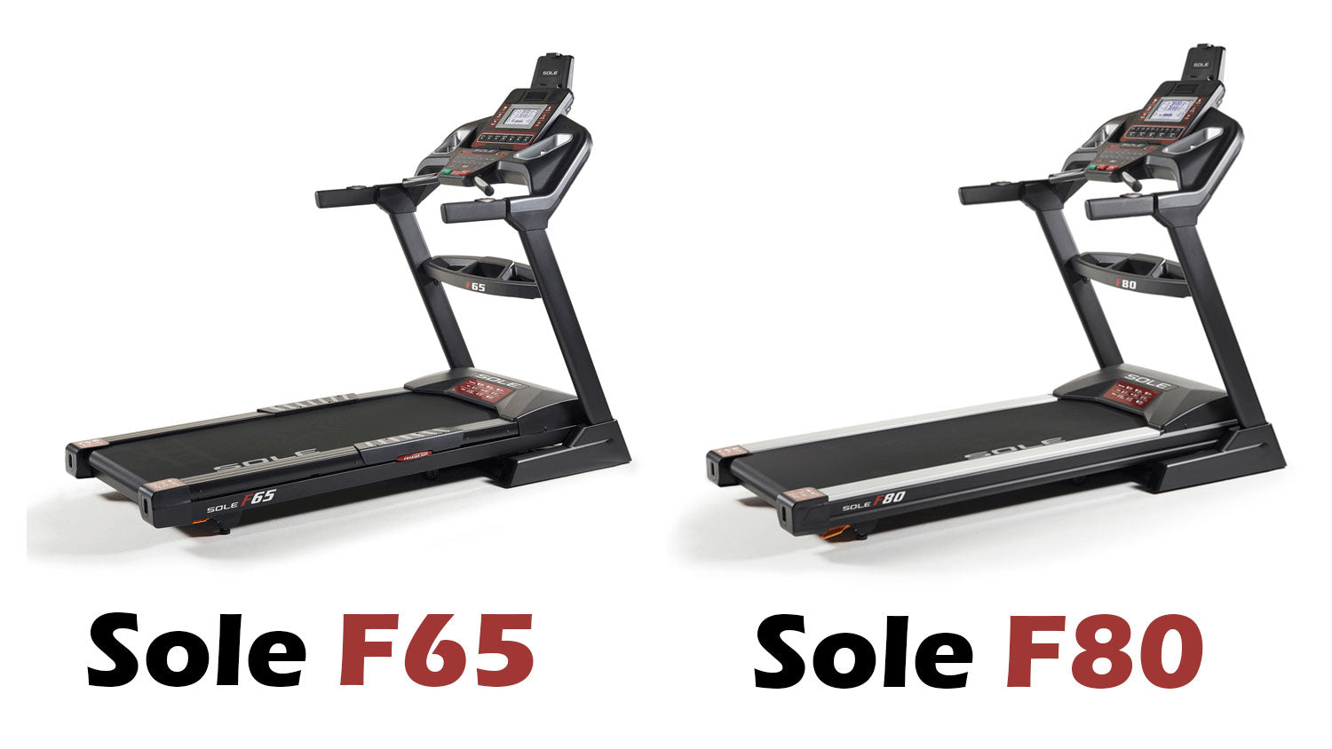 Sole F65 vs Sole F80 Treadmill Comparison