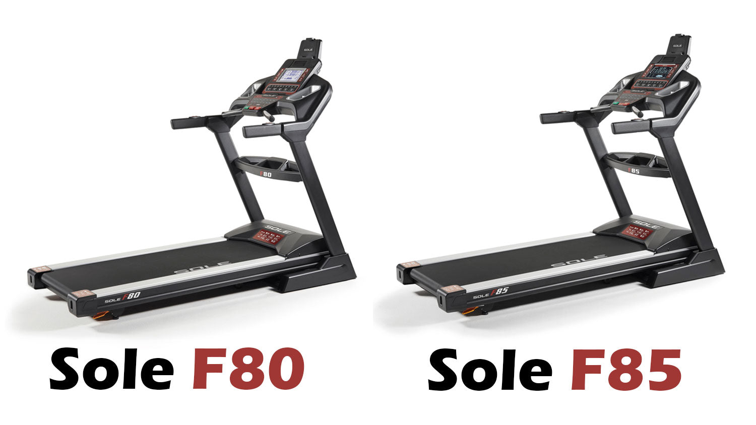 Sole F80 vs Sole F85 Treadmill Comparison