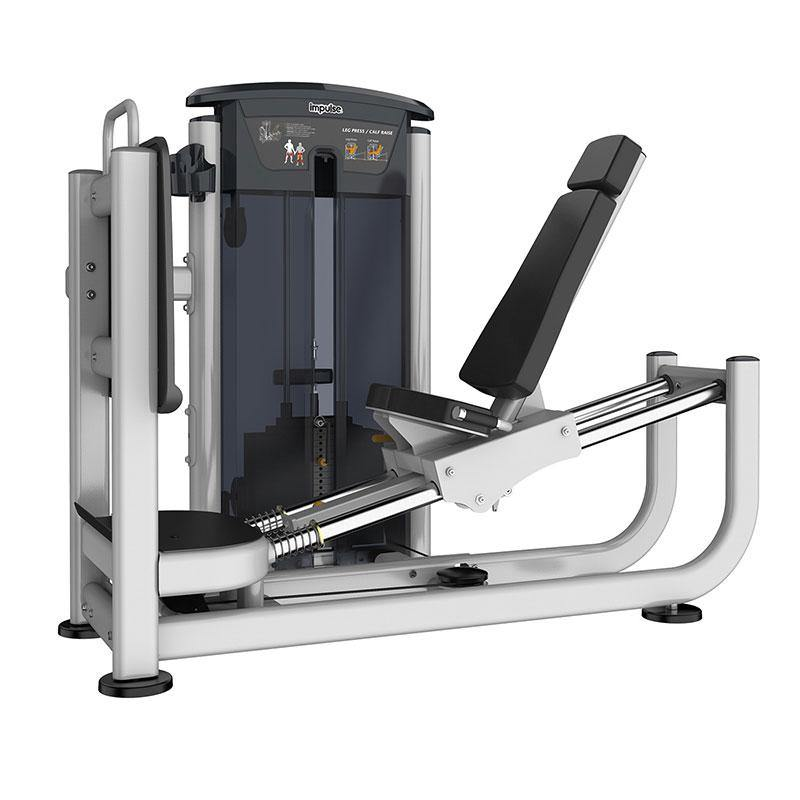 Impulse IT95 Series Pin-Loaded IT9510 Leg Press/Calf Raise