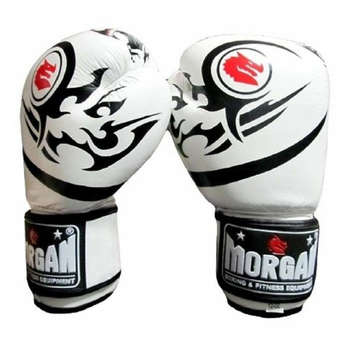 Morgan Elite Boxing & Muay Thai Leather Gloves (8-16 Oz)