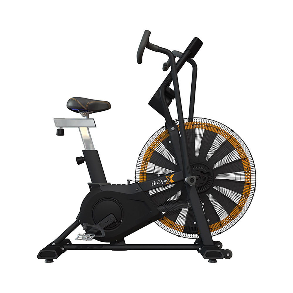 Octane ADX Airdyne X HIIT Air Bike Side View