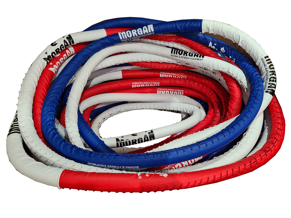 Morgan Elite 5m X 5m Boxing Ropes Set