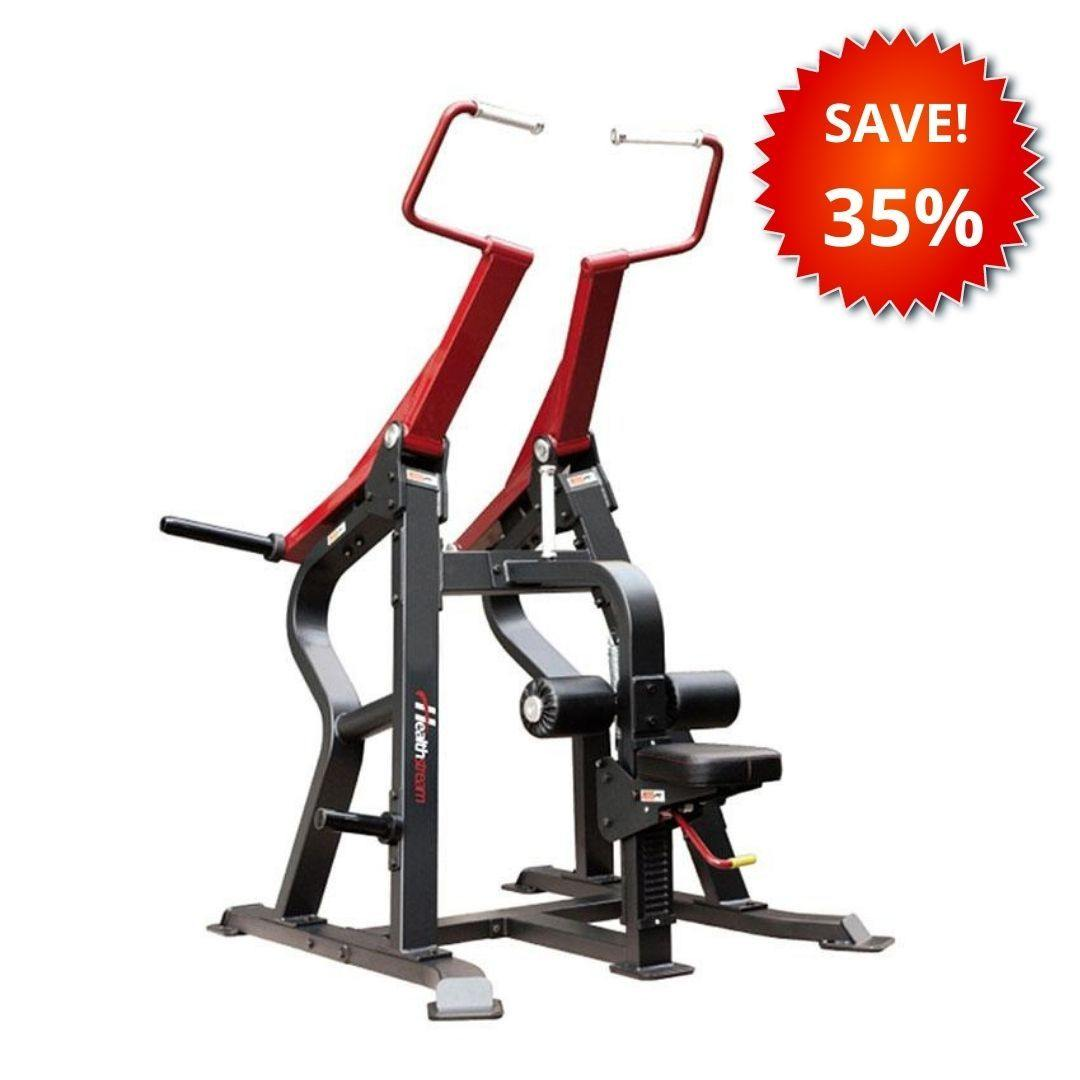 Healthstream Sterling Plate-Loaded Lat Pull Down