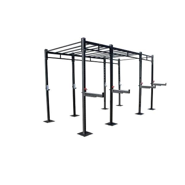 Morgan 3-Cell Cross Functional Fitness Freestanding Super Rig
