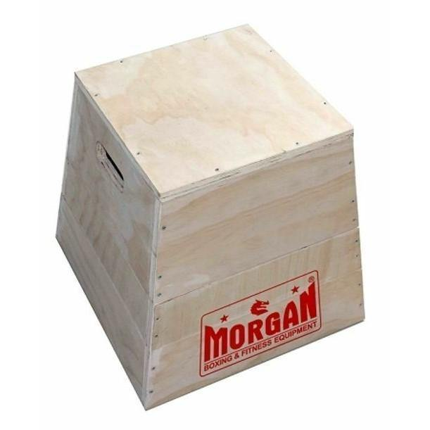 Morgan 3 In 1 Cross Functional Fitness Wooden Box