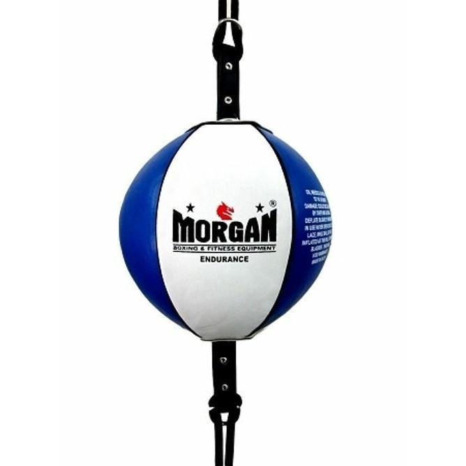 Morgan 8 Inch Endurance Round Floor To Ceiling Ball + Adjustable Straps
