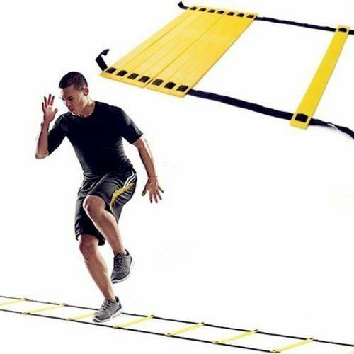 Morgan Adjustable 4m Speed & Agility Ladder - Flat